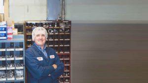 Alek Zelnins, Maintenance Manager atGay Lea Foods